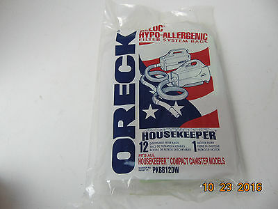 Pack 7 Vacuum Bags Genuine Replacement PKBB12DW Canister Housekeeper for Oreck