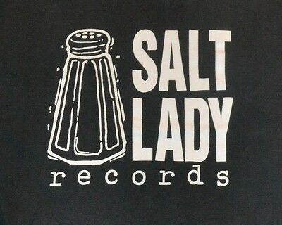 Vintage Salt Lady Records Logo T Shirt Large Minneapolis MN Jonathan Rundman 90s