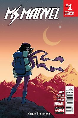 Ms Marvel #12 (2016) 1St Printing Bagged & Boarded Marvel Now