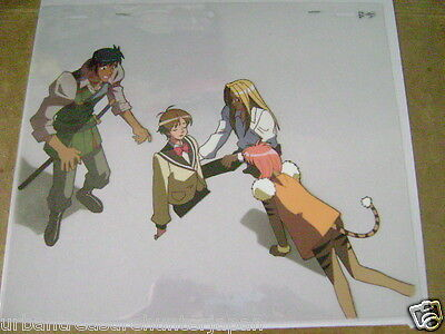 The Vision Of Escaflowne Hitomi Anime Production Cel 4