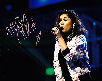 ALESSIA CARA SIGNED 10x8 PHOTO - Know It All/Four Pink Walls