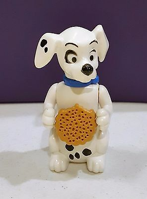McDonalds Happy Meal Toys 101 Dalmatians DALMATIONS #61 DOG holding cookie