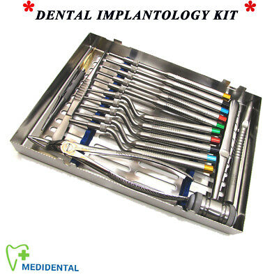 Dentist Surgical Forceps Osteotomes Implants Bone Mallet Oral Surgery Instrument