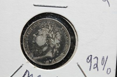 1822 Great Britain Silver Maundy 4 Pence  (KK22)