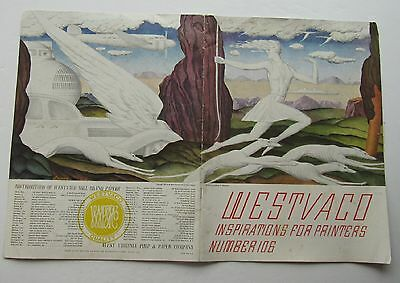 Westvaco Inspirations For Printers No. 106 Cover Design  Ludolph P Welanetz c37