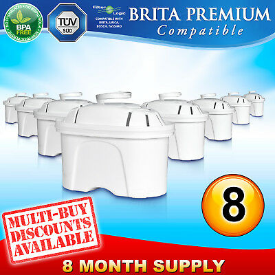 6 Pack FL402 Replaces Brita Maxtra Water Filter Cartridges