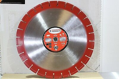 """Diamond Products 16"""" Core Cut Extra Plus Floor Walk Behind Concrete Saw Blade"""