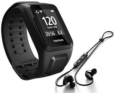 TomTom Spark Cardio+Music Running watch Multisport Heartrate with headphones
