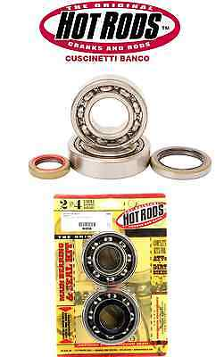 Kit Cuscinetti E Paraoli  Banco Hot Rods  Kawasaki Kx 250  1987 1988 1989