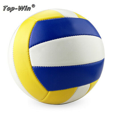 Size 5 Soft Touch Volleyball Ball PVC Power Professional Indoor Training