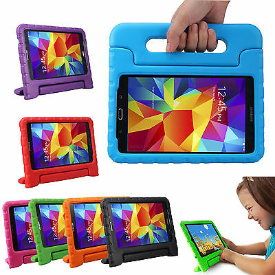 Kids Safe EVA Foam Shock Proof Cover Handle Stand Case For Samsung Galaxy Tablet