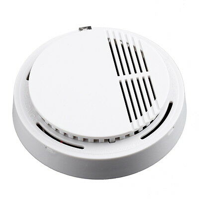 Fire Smoke Sensor Detector Alarm Tester Home Security System Cordless WP