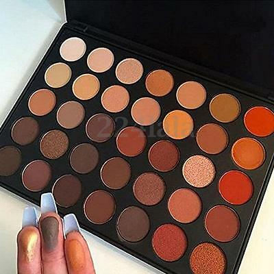 Pro 35 Colors Eye Shadow Cosmetic Makeup Shimmer Matte Eyeshadow Palette Set Kit