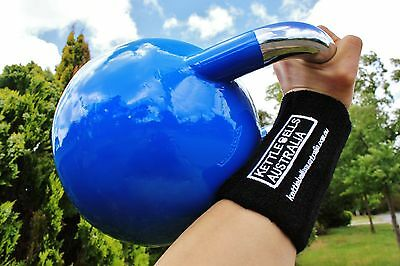 NEW 8-PVC Kettlebell Wrist Guards, One Pair (Free Shipping)