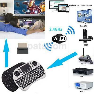 Mini 2.4G Wireless Keyboard and Mouse Combo with Touchpad for PC Android US