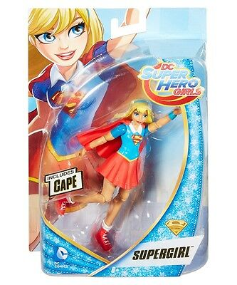 Mattel DC Super Hero Girls Actionfigur Supergirl | Superheldinnen Puppe 15 cm