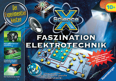 RAVENSBURGER ScienceX® Faszination Elektrotechnik