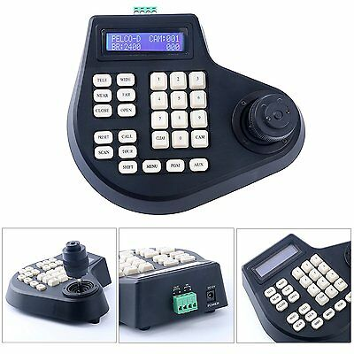 4 Axis Dimension joystick cctv keyboard controller for ptz Speed Dome Camera US