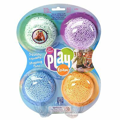 Autism Sensory Tactile Fidget Toys PlayFoam Multicolor 4 Pack Special Needs