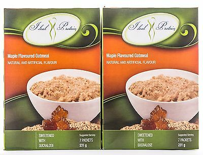Ideal Protein Maple Flavoured Oatmeal - 14 Packets