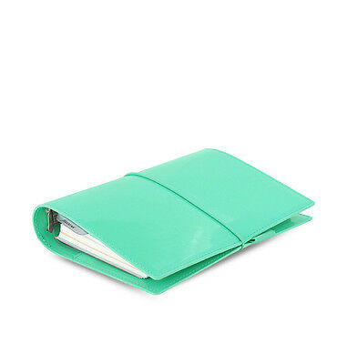 FILOFAX DOMINO Patent  TURQUOISE Personal Kalender, Zeitplaner, Timer Nr. 22514