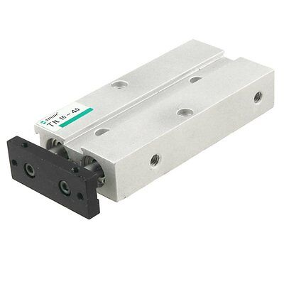 Dual Action 10mm Bore 40mm Stroke Double Rod Pneumatic Air Cylinder