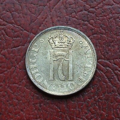 Norway 1909 silver 10 ore