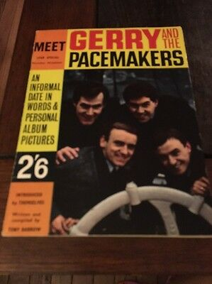 Gerry and the Pacemakers  Program England U.K. 1964 magazine book