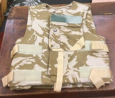 Ex Military Stab Proof Vest Body Armour Chest 104  Height 180