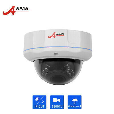 BNC 1200TVL 4X Varifocal Zoom Dome Security CCTV Camera IR-CUT Vandalproof IP66