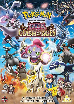 Pokemon Hoopa And The Clash Of Ages    Brand New Sealed Genuine Uk Dvd