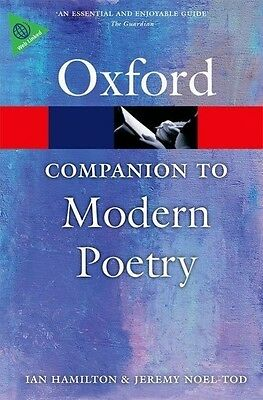 The Oxford Companion to Modern Poetry in English Ian Hamilton