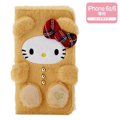 Hello Kitty iPhone 6 6s Case Cover Plush Tail ❤ Sanrio Japan