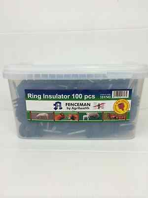 Fenceman Electric Fence Ring Insulator Pack Of 100