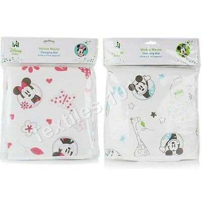 Official Disney Mickey & Minnie Mouse Foldable Changing Baby Mat Home Travel New