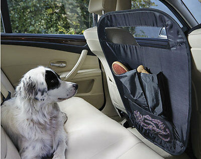 Universal Dog Safety Protection Guard Vehicle Car PET BARRIER Pocket Front Seat