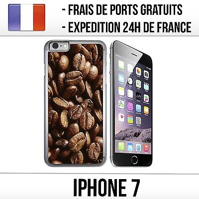 Coque iPhone 7 - Grains de Café