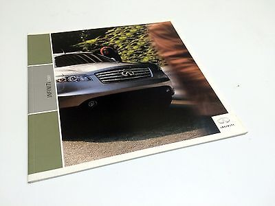 FX45 BOX 277 2003 INFINITI G35 SALES BROCHURE MINT M45