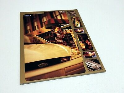 2000 Ford Focus Information Sheet Preview Brochure