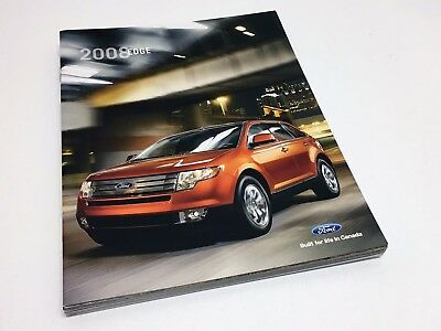 2008 Ford Edge SEL Limited Brochure