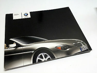 2004 BMW 6-Series Convertible 645Ci E63/E64 Brochure (French)