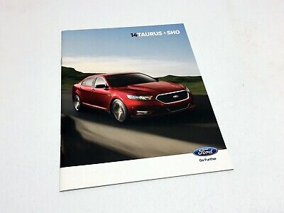 2014 Ford Taurus SHO SE SEL Limited Brochure