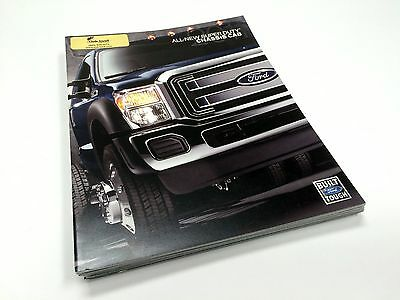 2011 Ford Super Duty Chassis Cab XL XLT Lariat Brochure