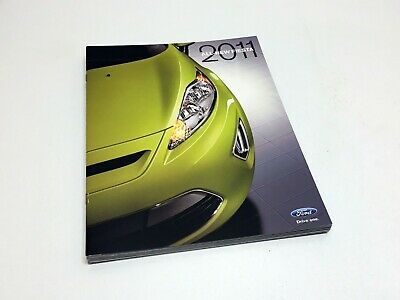 2011 Ford Fiesta S SE SEL SES Sedan Hatchback Brochure
