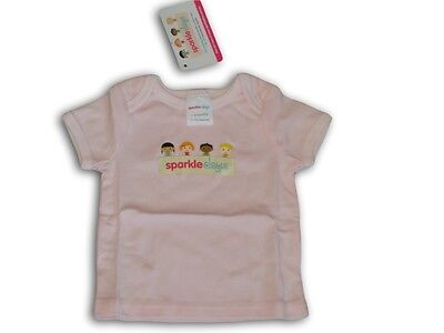 Pink SPARKLE DAYS Cotton Shirt ~ Size 000, 00, 0, 1 & 2 ~ NEW