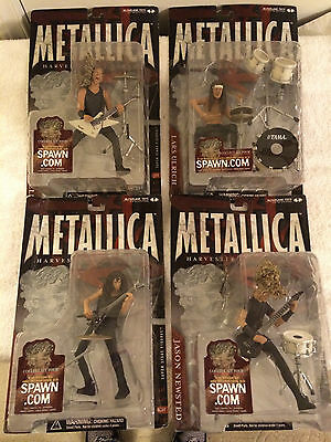 McFarlane Metallica All New in the Pack Harvesters of Sorrow Individually or Set