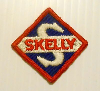 Skelly Gasoline Patch Embroidered Oil 2-1/4 inches Original