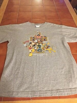 Disneyland 50th Anniversary Happiest Homecoming Adult Mens Medium T-shirt