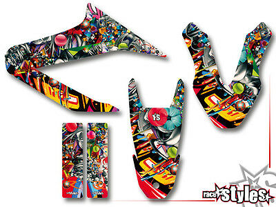 YAMAHA WR 125 R / 125 X FULL StickerBomb DEKOR DECALS Aufkleber KIT 2009-2017