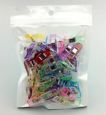 Wonder Clips Multicolour for Quilts or Bag Making~ PACK OF 20~ AU Seller